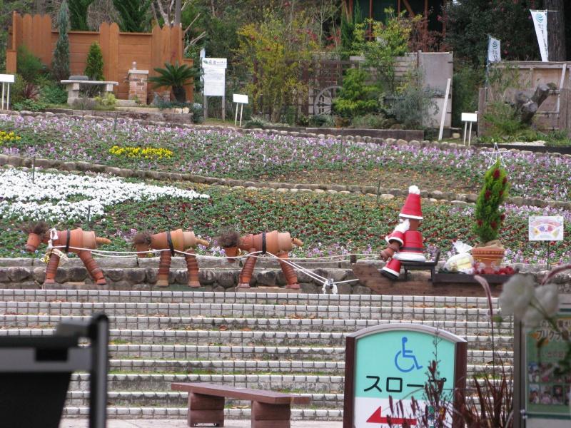 2010年12月5日の大花壇前風景